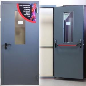 Противопожарная дверь ДПМ-1