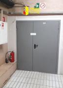 Противопожарная дверь в общеобразовательное заведение, вид 2-1